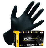 GLOVE-BLACK-NITRILE